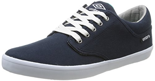 Umbro  Long Sight Cvs,  Sneaker uomo Blu Bleu (422-Marine/Blanc) 42