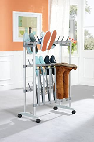 RUCO V 194 Wheeled Shoe and Boot Trolley