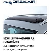 ClimAir CLI0033627 Windabweiser Profi Vorne rauchgrau