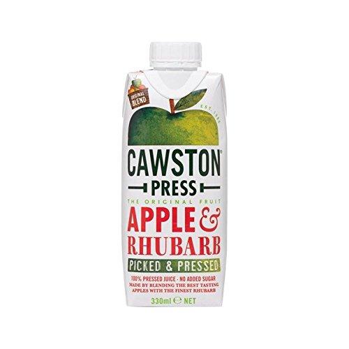 Cawston Presse Apfel-Rhabarber-Dreamcap 330Ml (Packung mit 6)