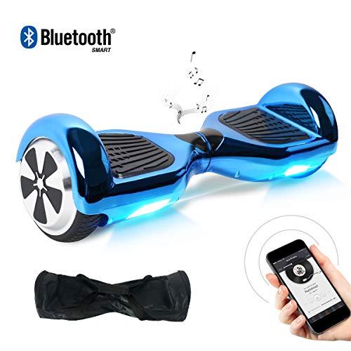 "Kategorie <b>Zweirad E-Board (Hoverboard) </b> - BEBK Hoverboard, 6.5"" Self Balance Scooter mit 2 * 350W Motor, LED Lights Elektro Scooter (022)"