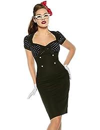 Vintage-Kleid im Pin-Up-Stil
