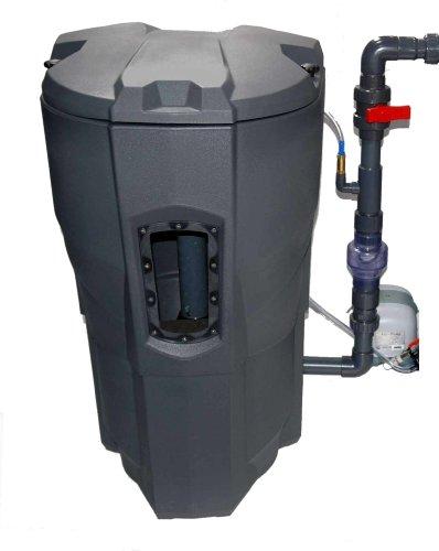 Selbstreinigender Teichfilter für Gartenteiche und Koiteiche bis 30.000L, Calictus Automatik Filtersystem, der einzigartige automatisch selbstreinigende Teichfilter - prämiert und patentiert - für einen sorgenfreien und unbeschwerten Teichgenuss, kristallklares, sauberes und sauerstoffreiches Teichwasser und gesunde, aktive Fische. CALICTUS AUTOMATIK Teichfilter, OHNE Filterglasperlen