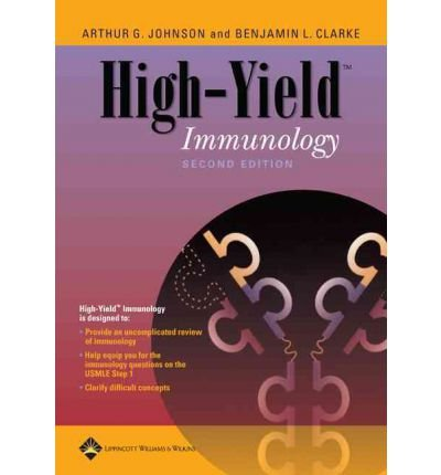 [(High-yield Immunology)] [By (author) Arthur G. Johnson] published on (September, 2005) par Arthur G. Johnson