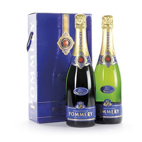 Regalo Natalizio Champagne Brut Royal Millesime Pommery - Idea Regalo Champagne per Natale - cod 211
