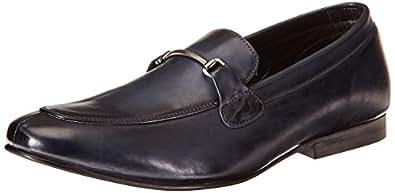 Franco Leone Men's Blue Loafers and Mocassins - 10 UK/India (44 EU)