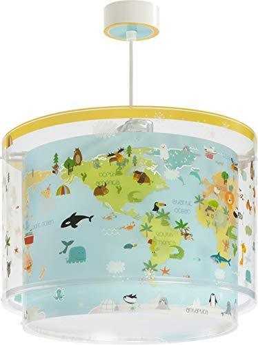 Dalber Baby World Lámpara Infantil Colgante, Multicolor