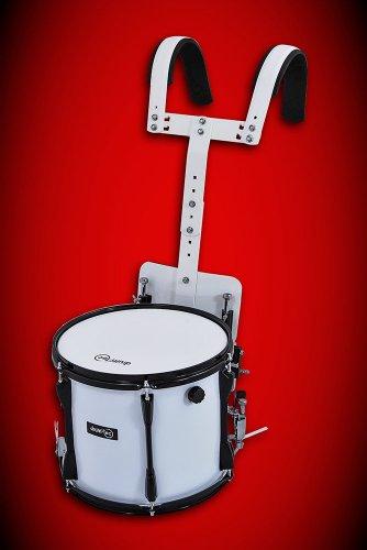 Marching Snare Drum / Fan Trommel / Kleine Trommel mit Tragegestell ++