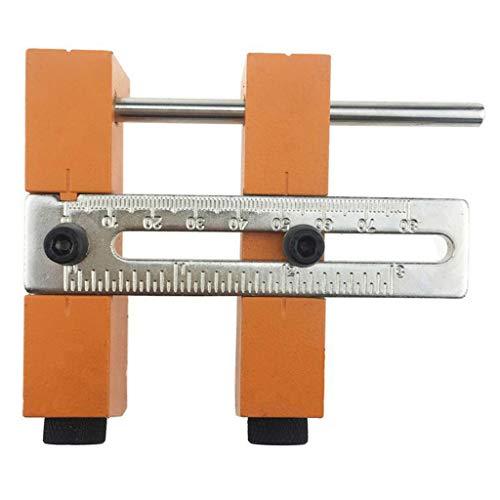 B Blesiya Taschenloch Bohrschablone Holzdübel Bohrvorrichtung Set für Bohrkronen, Schrauben, Dübel
