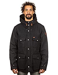 Element Hemlock Wool Jacket Charcoal