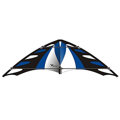Elliot XDREA_G-X-Dream Flugdrachen, blau/schwarz/weiß