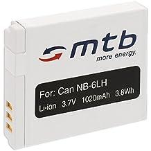 Batteria NB-6L per Canon PowerShot SX240 HS, SX260 HS, SX270 HS, SX280 HS, SX500 IS