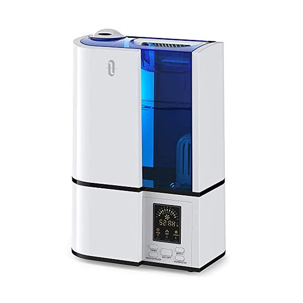 TaoTronics-Umidificatore-Ultrasuoni-Ambiente-4L-Grande-capacit-Display-LED-a-Freddo-da-Casa-14-Ore-di-Durata-per-Termosifoni-Regolatore-del-Livello-di-Vapore-modalit-Anioni-Silenzioso