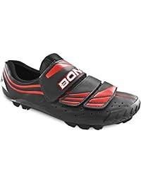 BONT Unisex-Erwachsene MTB-Schuhe Vaypor XC Mountainbike, Schwarz (Schwarz), 42 EU