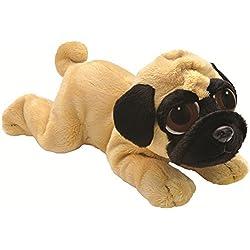 Li'l Peepers 14056 - Perro pug de peluche (15,2 cm), color beige