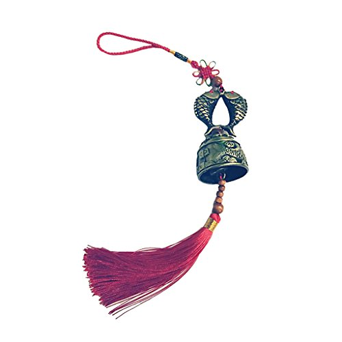 B Blesiya Klangspiel Glücksbringer Wind Chime Glocke zum Aufhängen, für Innen/Außen Deko