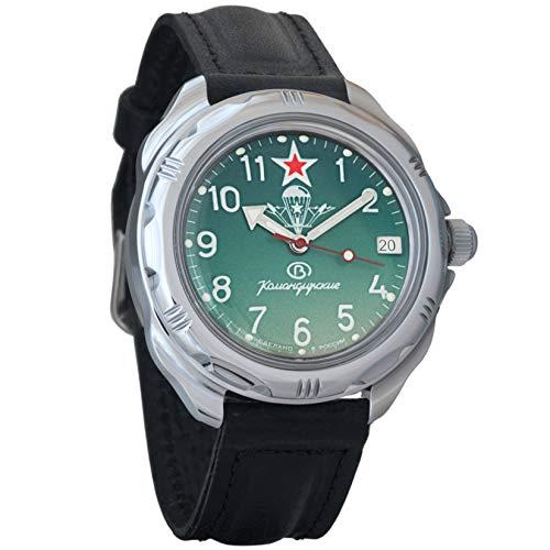 Vostok Komandirskie 2414/211307 - Reloj de Pulsera para Hombre, diseño Militar Ruso