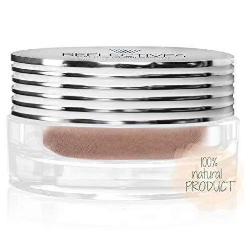 Mineral Puder lose/MAKE-UP deckend Naturkosmetik/Mineralkosmetik/Puder Make-up/hohe Deckkraft/Reflectives, neutral-leicht gebräunt/für gebräunte, beigefarbene oder neutrale Hauttöne 6g