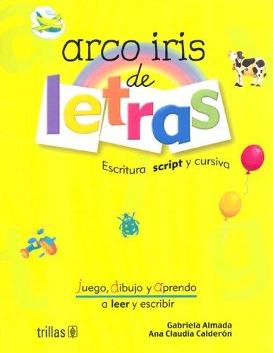 Arco Iris de Letras por Editorial Trillas