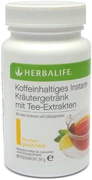 HERBALIFE suplemento herbal instantáneo a base de hierbas con extractos de té - sabor limón - 50 g