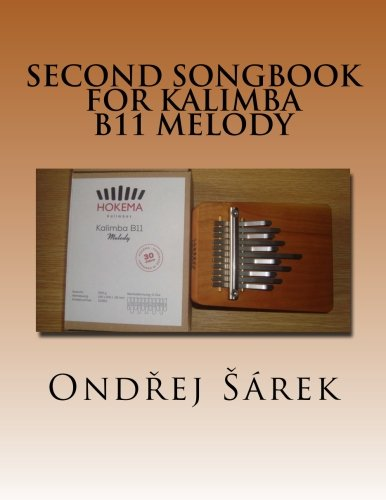 Second songbook for Kalimba B11 Melody