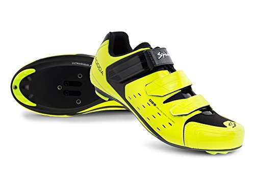 Spiuk Rodda Road scarpe, Unisex adulto Giallo Av