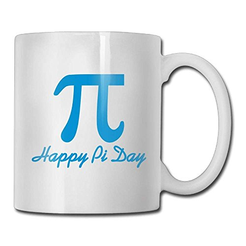 LESKETH Happy Pi Day Coffee Mug 11 Oz Boys Funny Ceramic Gifts Tea Cup A for Your Family and Friends