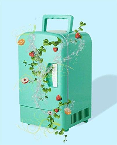 XW 6L Heiße Und Kalte Dual-Use-Auto Kühlschrank , Green,green