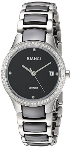 ROBERTO BIANCI WATCHES Women's 'Balbinus' Quartz Stainless Steel Casual Watch, Color:Two Tone (Model: RB2941)