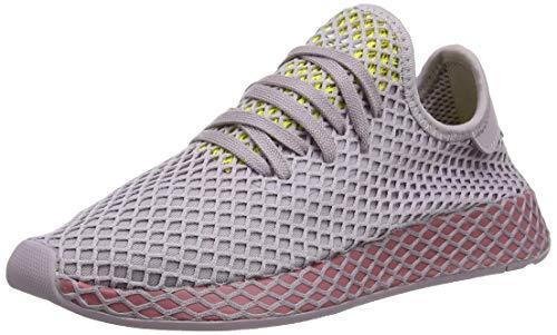 adidas Damen Deerupt Runner W, Laufschuhe, Mehrfarbig (Soft Vision/Trace Maroon/Shock Yellow), 38 2/3 EU (5.5 UK) (Adidas Schuhe Fitness)