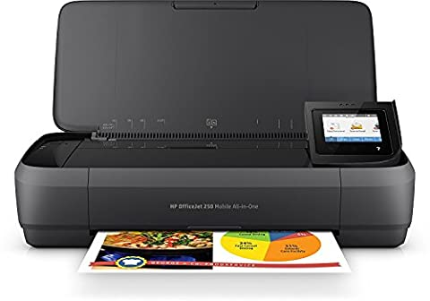 HP CZ992A#BHC Officejet 250 Mobile All-in-One - Multifunction printer -