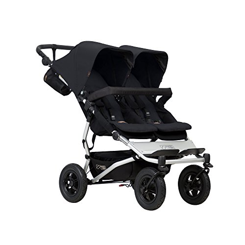 Mountain Buggy Doppelkinderwagen Side-by-Side mit 4 Rollen