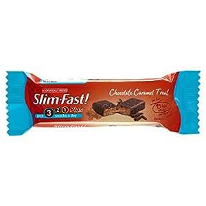 SlimFast Snack Bar Chocolate Caramel Treat 26 g - Pack of 24