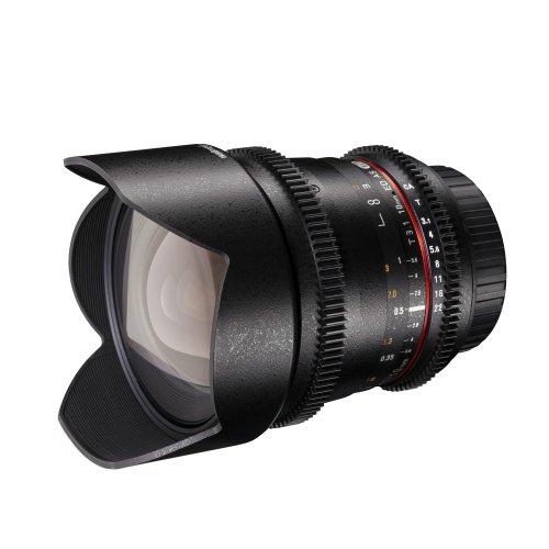 Walimex Pro 10mm 1:3,1 VCSC-Weitwinkelobjektiv für Canon EF-S Objektivbajonett schwarz