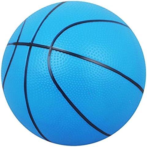 Mini Basket Gonfiabile Interno / Esterno Bambini Sport Con La Palla Giocattolo Regalo-blu - Gomma Bouncy Balls