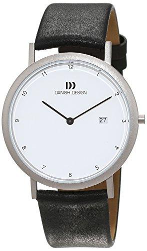 DANISH DESIGN Reloj Analógico para Unisex de Cuarzo con Correa en Cuero IQ12Q881