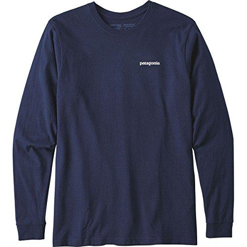 Patagonia L/S P Logo Responsibili Shirt, Herren L blau (Classic Navy) (Patagonia-classic-shirt)