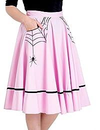 Amazon.it  vestiti anni 50 - Hell Bunny   Gonne   Donna  Abbigliamento 5de274b353c