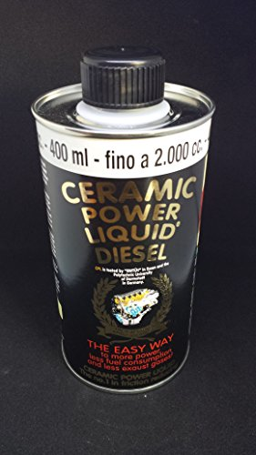 CERAMIC POWER LIQUID DIESEL PER AUTO A GASOLIO FINO A 2000cc 400m