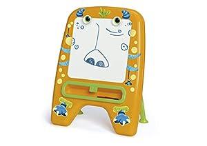 Chicos-Mi Primera Pizarra Happy Monster, Multicolor, 59 x 33 x 72 cm (Fábrica de Juguetes 52194)