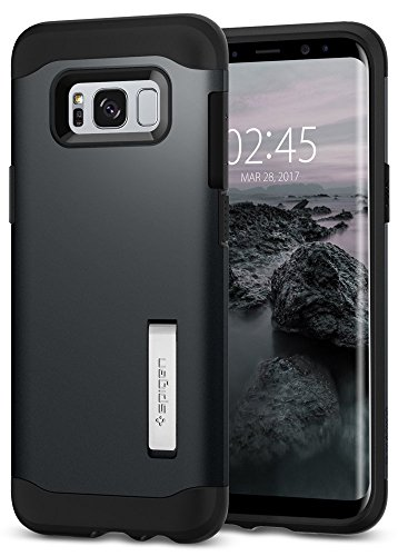 Spigen Slim Armor Galaxy S8 Case with Air Cushion Technology and Hybrid Drop Protection for Galaxy S8 (2017)