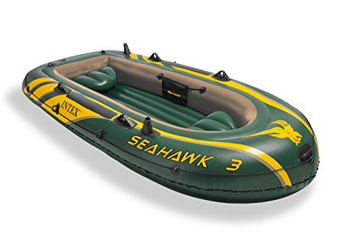 Intex Seahawk 3 - Barco hinchable, 295 x 137 x 43 cm