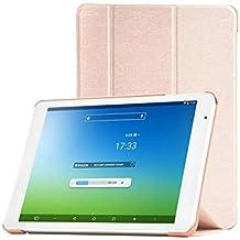 TopAce® Slim Smart Funda de Cuero Con Función de soporte para Teclast X98 Air III / X98 Air 3G / X98 Plus (Oro)