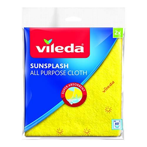 Vileda Sun Splash alle Zwecke, Reinigungstuch, 12 Stück - Zweck Splash