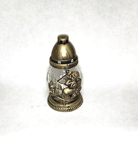 Grabschmuck Grablampe Grablicht Gold KW-RAD-005