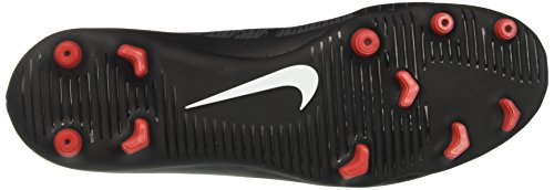 Nike Mercurial Vortex Iii Fg, Chaussures de Football Homme Noir (Noir/Gris Foncé/Blanc)