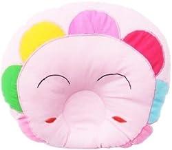 GuzelWorld Baby Sleeping Pillow (Baby Pink, Flower)