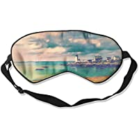 Eye Mask Eyeshade Lighthouse Seascape Sleeping Mask Blindfold Eyepatch Adjustable Head Strap preisvergleich bei billige-tabletten.eu
