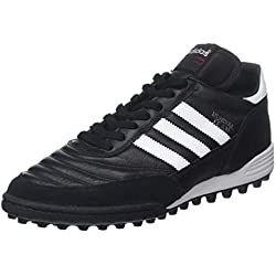 Adidas Mundial Team, Scarpe da Calcio Uomo, Nero (Black/Running White Ftw/Red), 42 2/3 EU