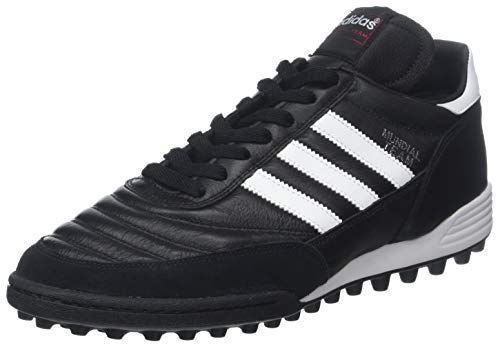 Adidas Mundial Team, Scarpe da Calcio Uomo, Nero (Black/Running White Ftw/Red), 41 1/3 EU